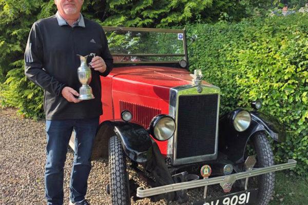 2021 PWMN Rally 2020 Brian Maeers award winner John Paternoster