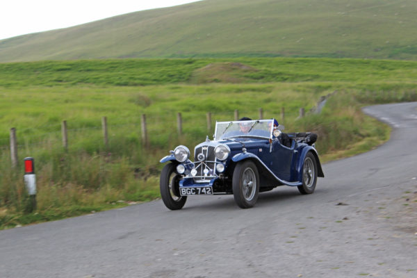 2021 PWMN Rally BGC 742 1934 Wolseley Hornet Special In the Valley (Butland) ws