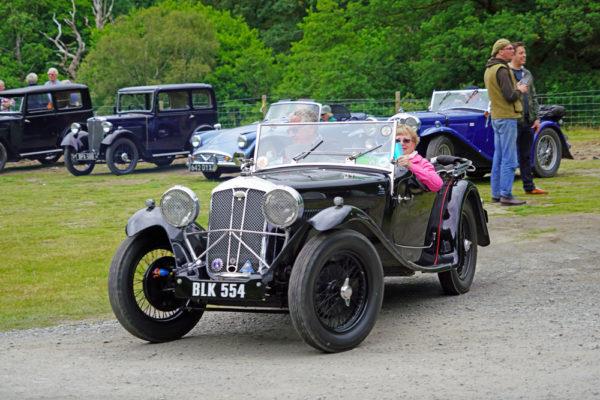 2021 PWMN Rally BLK 554 1934 Wolseley Hornet Special Jack Peppiat ws