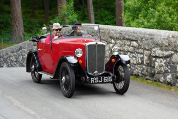 2021 PWMN Rally RSJ 615 1933 Morris Minor Two-seater Jonathan Barwick ws