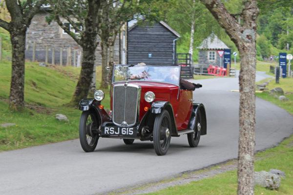 2021 PWMN Rally RSJ 615 Jonathan Barwick Elan Valley Visitor Centre (Butland) ws