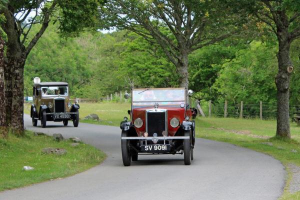 2021 PWMN Rally SV 9091 John Paternoster Elan Valley Visitor Centre (Butland) ws