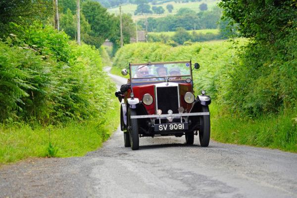 2021 PWMN Rally SV 9091 fully laden John Paternoster ws