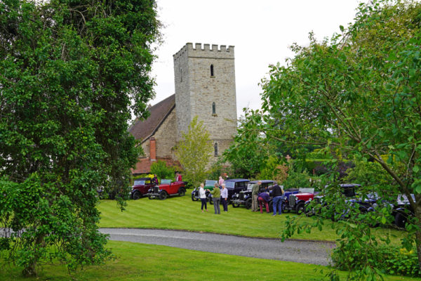 2021 PWMN Rally Titley Church Old Priory Saturday evening ws