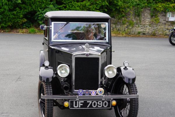2021 PWMN Rally UF 7090 1931 Morris Minor Coachbuilt Saloon Martin Gregory ws