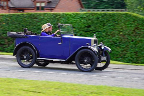 2021 PWMN Rally VJ 1756 1929 Minor Tourer Janie Maeers & Geof Wilson ws