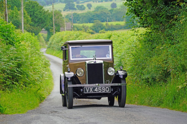 2021 PWMN Rally VX 4590 1930 Morris Minor Coachbuilt Saloon Ken Martin ws