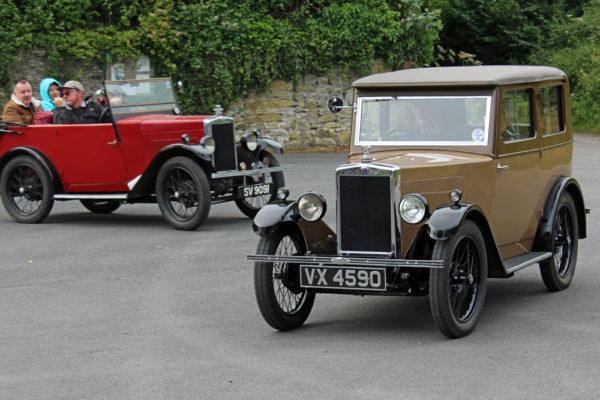 2021 PWMN Rally VX 4590 SV 9091 Titley Village Hall Car Park (Butland) ws