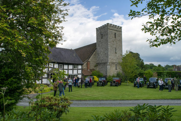 21-07-9 The Marches Rally KateMartinPic18 Saturday Gathering The Old Priory Titley