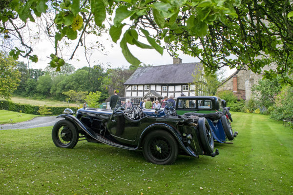 21-07-9 The Marches Rally KateMartinPic19 Saturday Gathering The Old Priory Titley