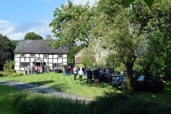 21-07-9 The Marches Rally KateMartinPic21 Saturday Gathering The Old Priory Titley